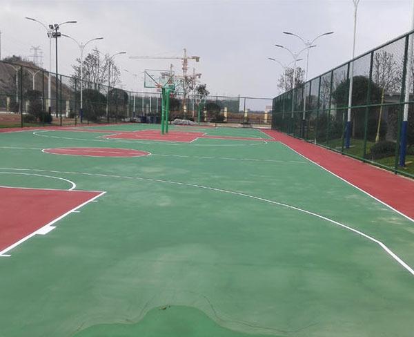 碧桂园国际学校篮球场