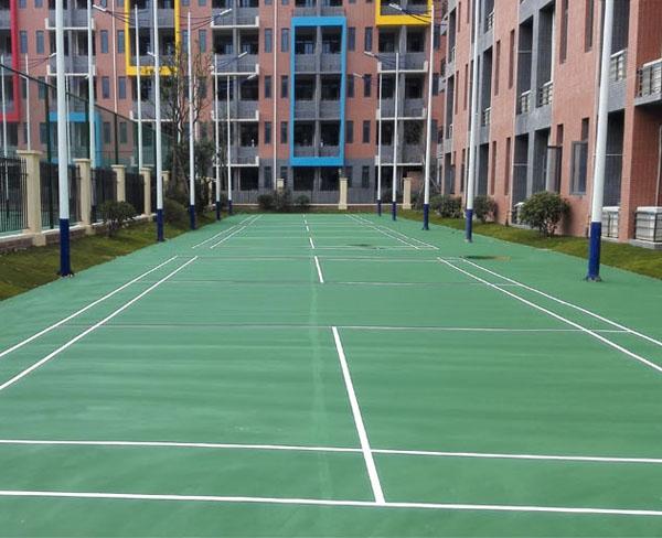 碧桂园国际学校羽毛球场