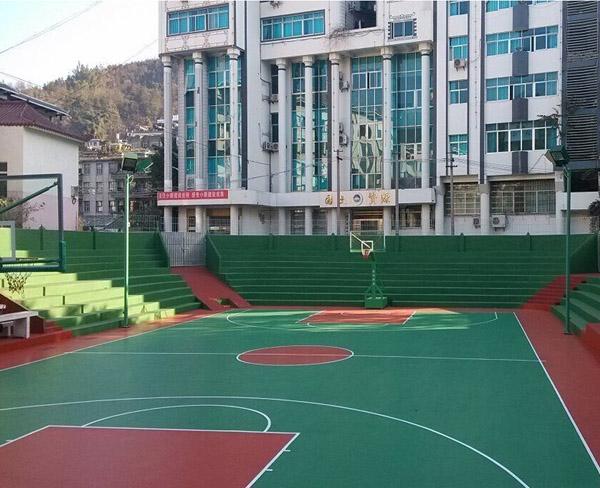 册亨县文体广电局硅PU灯光球场