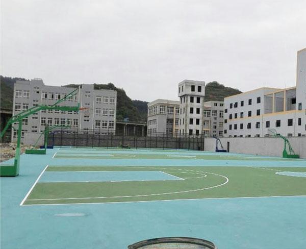 贵定文体广电旅游局丙烯酸篮球场、网球场工程