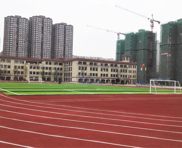 中铁逸都国际学校运动场